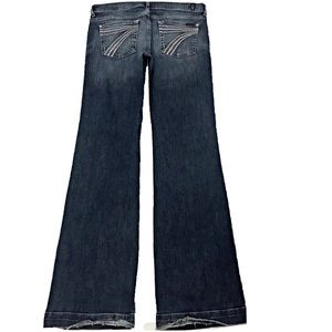 7 For All Mankind Dojo 29X35 Long Flare Jeans